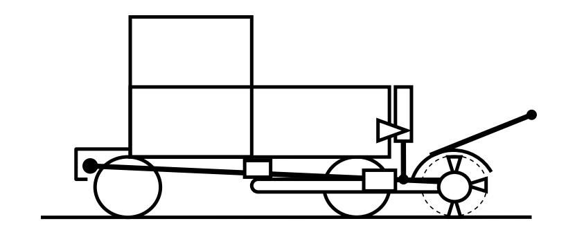 Схема кустореза-измельчителя ИК-1,8
