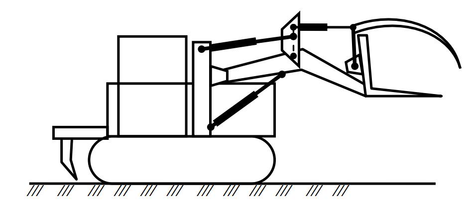 Схема собирателя-погрузчика СП-3,2