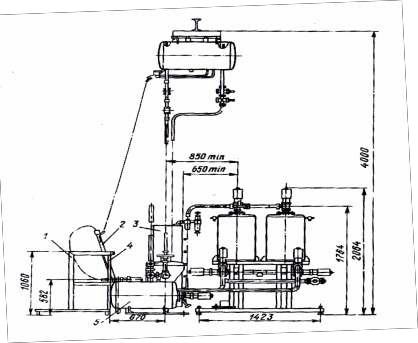 Схема установки В2-ФВУ-100