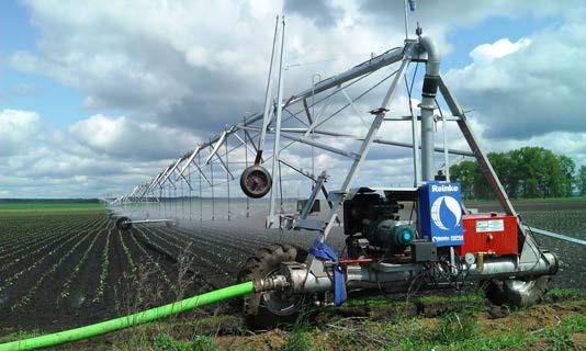 широкозахватная дождевальная машина фирмы Rainke