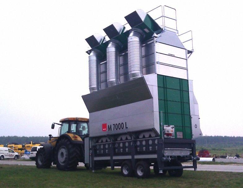 Транспортировка зерносушилки М7000L