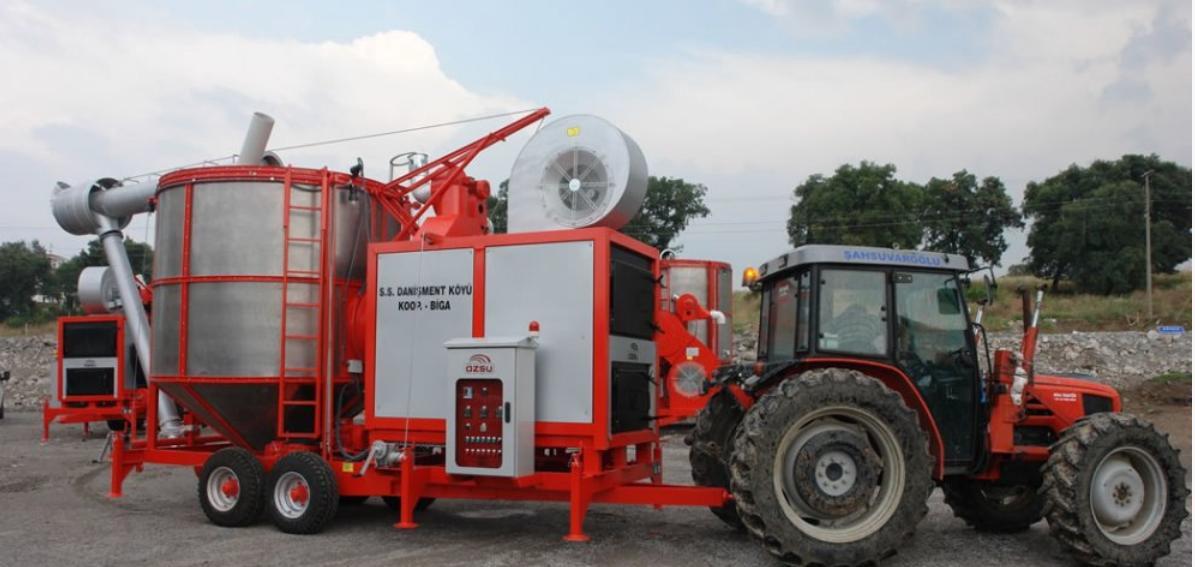 Транспортировка зерносушилки ТКМ