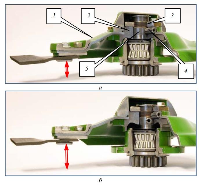 Вид ротора с системой защиты