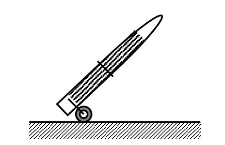 Вид устройства ОД-100 в транспортном положении