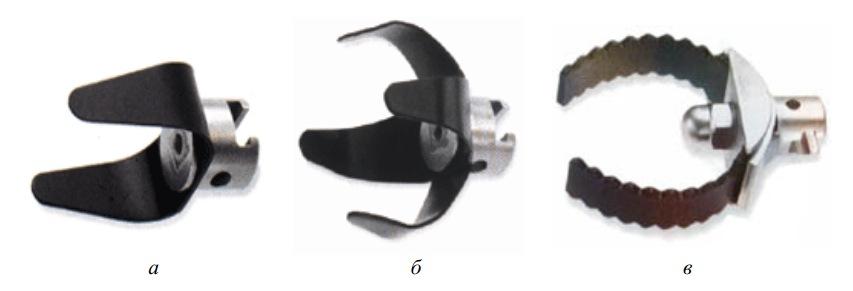 Вильчатые скребки для механической очистки труб
