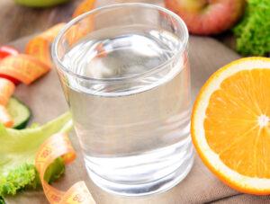 Вода в пищевом сырье