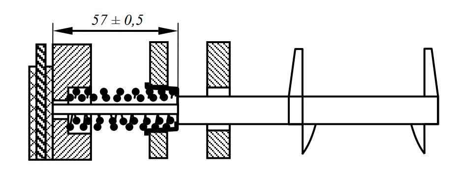 замер высоты пружин бортового фрикциона