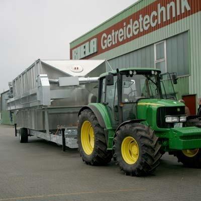 Зерносушилка мобильная тип GDT 240/300