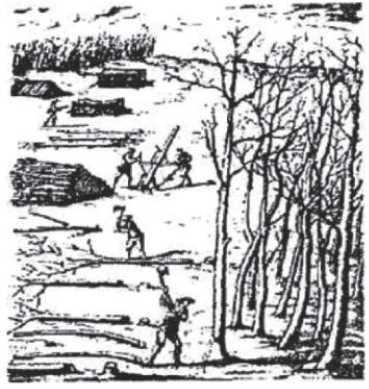 бригадный метод лесозаготовок