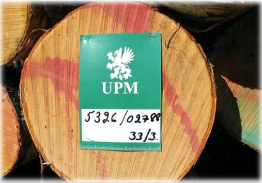 Идентификационная маркировка заготовленных сортиментов