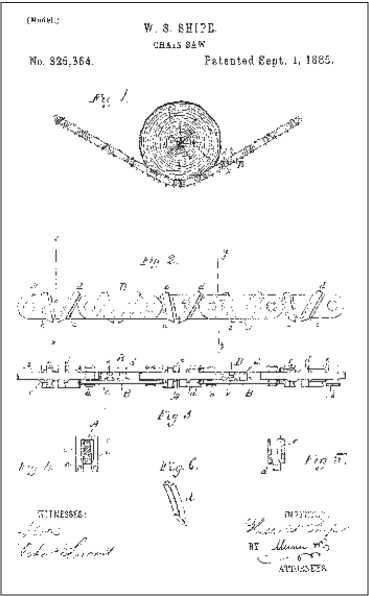 изобретение Walter S. Shipe