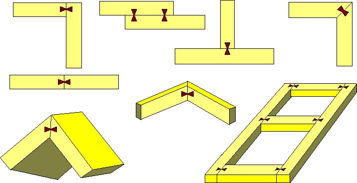 конструктивные решения со шпонкой «ласточка» Hoffmann