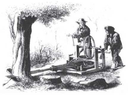 Лесоповалочный механизм Гамильтона