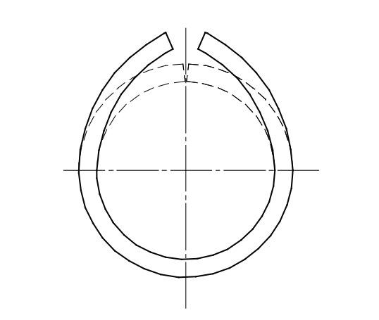 Непараллельность схождения кромок полосы — дефект «крыша»