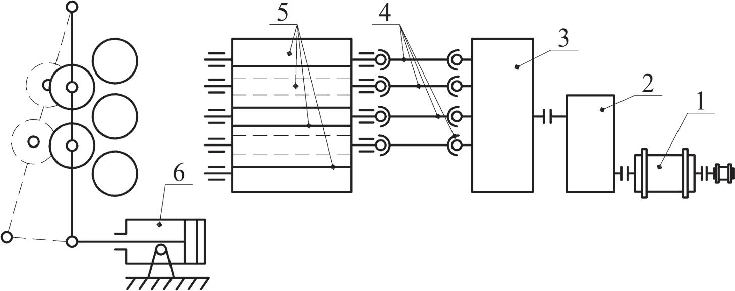 схема листоправильной машины