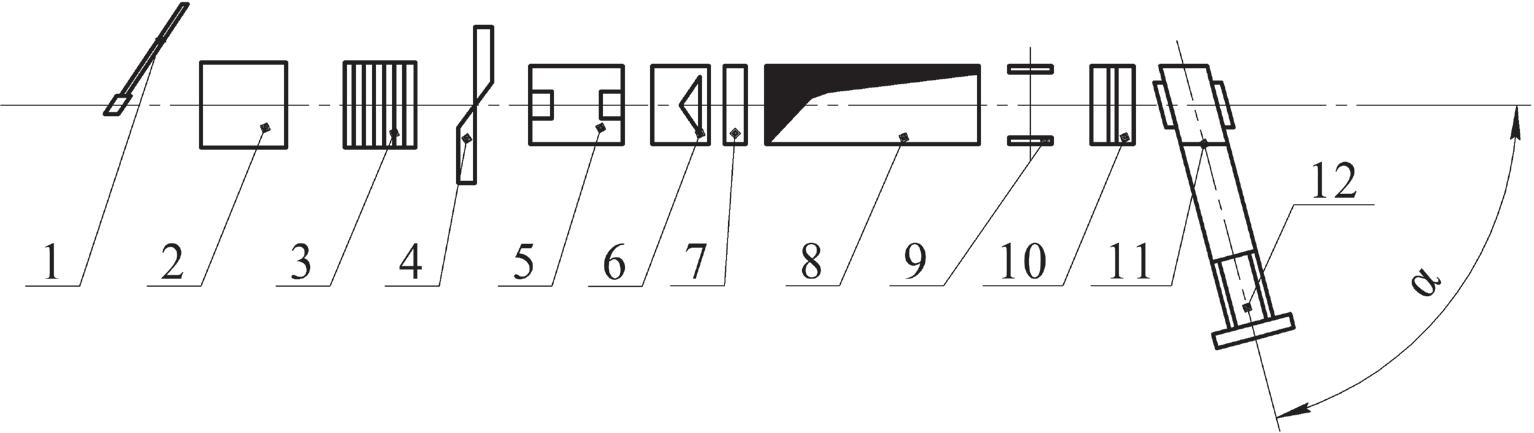 Схема расположения основного оборудования