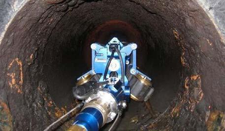 Телеинспекция внутренней полости трубопровода