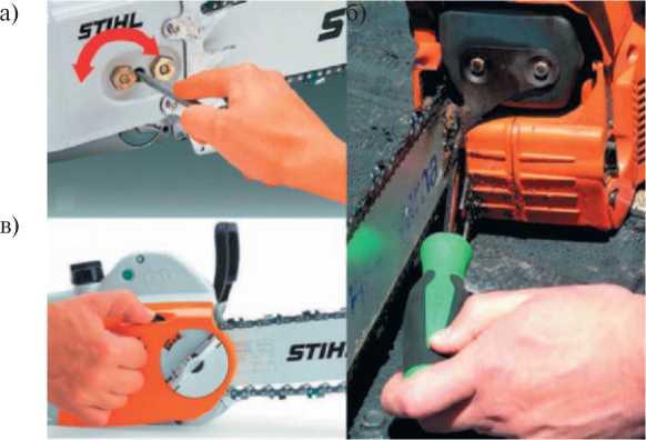 устройства натяжения цепи