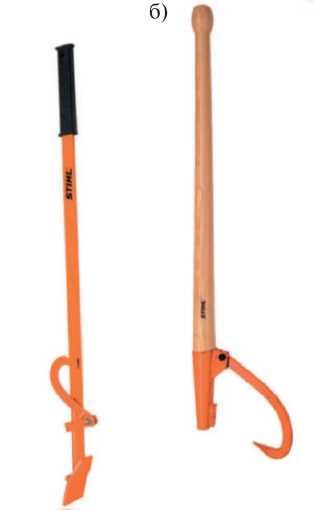 Валочная лопатка и поворотный крюк