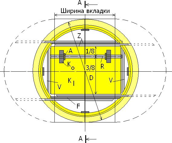 Конструкция круглого раздвижного стола