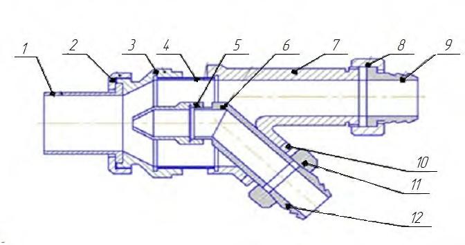 Регулируемый струйный аппарат