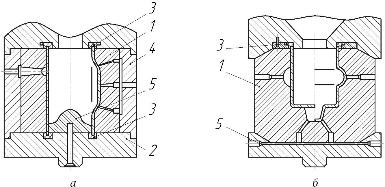 установки для формообразования пространственных заготовок
