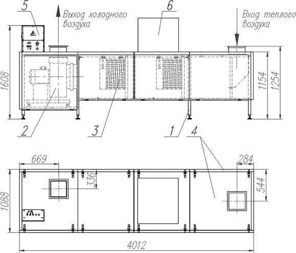Агрегат подготовки холодного воздуха КР-3507
