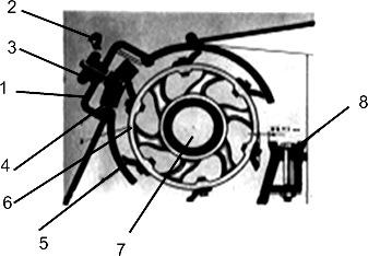 Аппарат заточки ножей первого режущего аппарата