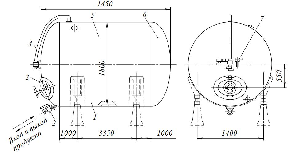 Бродильный аппарат М7-ТАВ