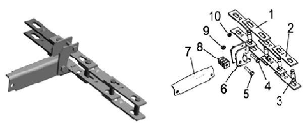 Цепь со скребками транспортера ТСН-3,0Б