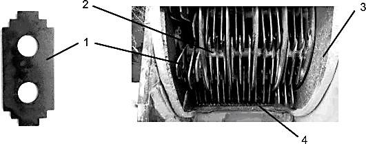 Дробильный аппарат с расположенными со смещением на осях молотками