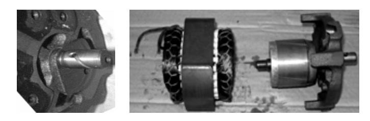 Электродвигатель компрессора