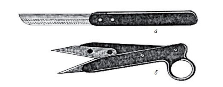 Инструменты для проведения обрезки и формирования растений