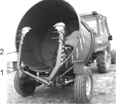 измельчитель грубых кормов в рулонах ИРК-145