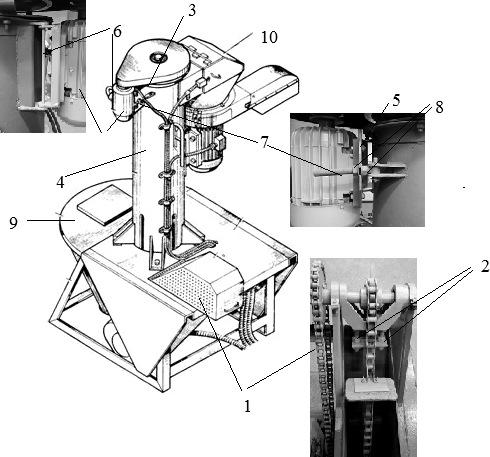 Измельчитель-камнеуловитель ИКМ-Ф-5