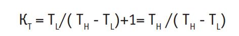 коэффициент преобразования для цикла Карно