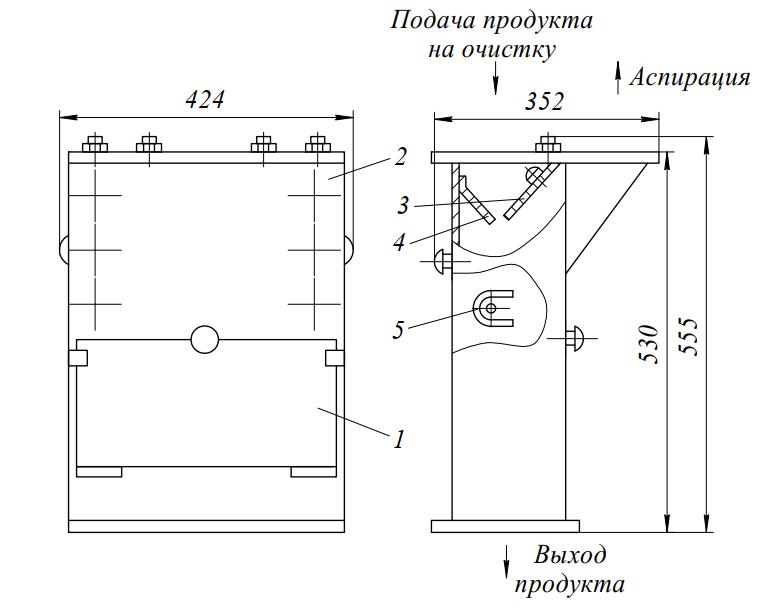 Колонка магнитная БКМА 300 А