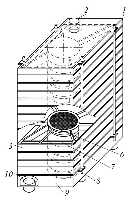 Колонка мельничного рассева