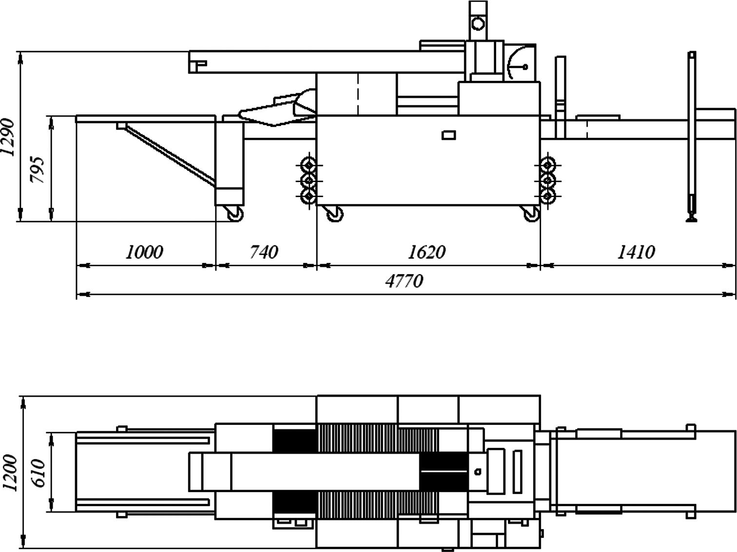 Машина автоматическая для производства чиабатты VBS модель СВ