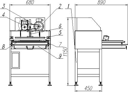 Машина для резки ДР-2801
