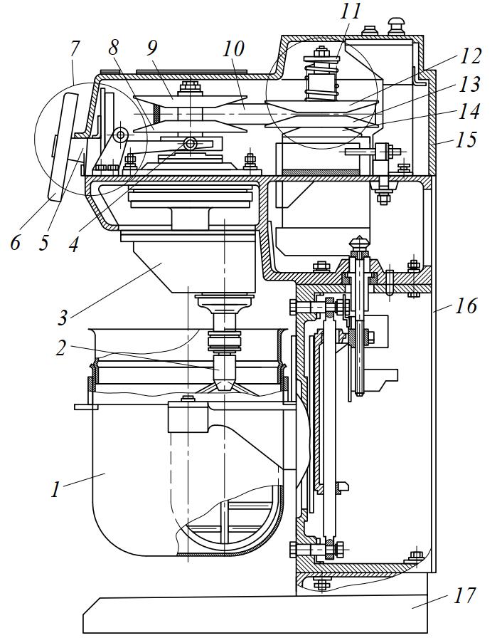 машина взбивальная МВ-35 (2М)
