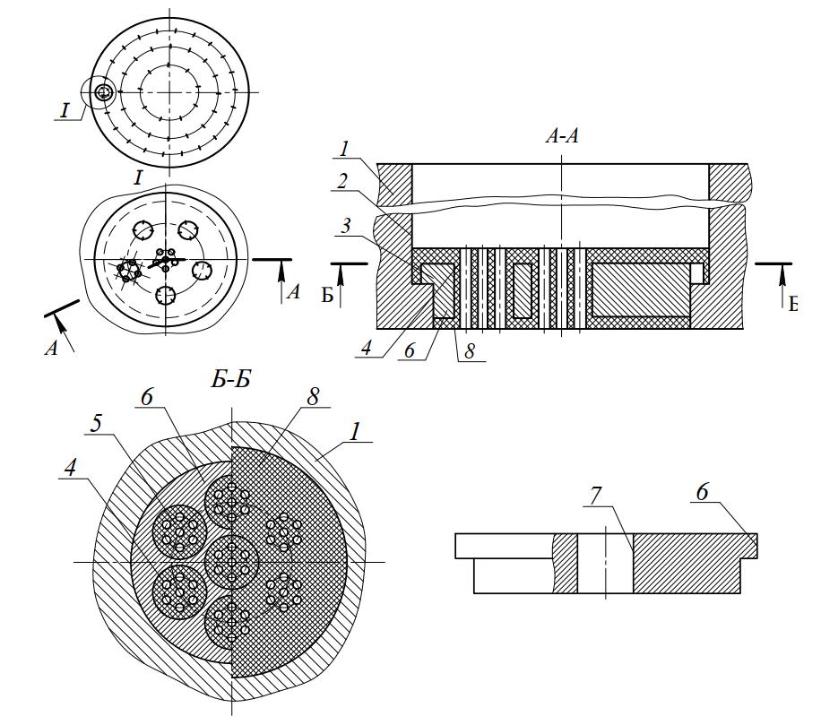 Матрица для производства макаронных изделий