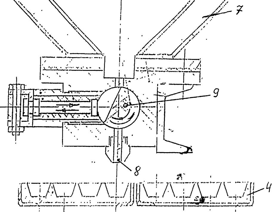 Механизм для подачи мармеладной массы