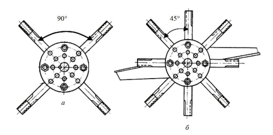 ножи на роторе измельчителя-смесителя кормов ИСК-3