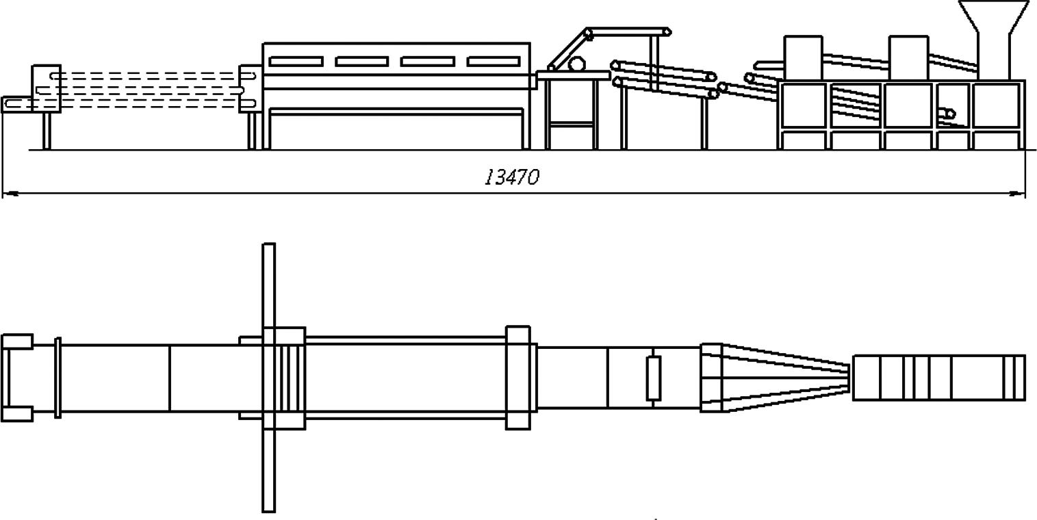 оборудование для производства лаваша круглой и прямоугольной формы
