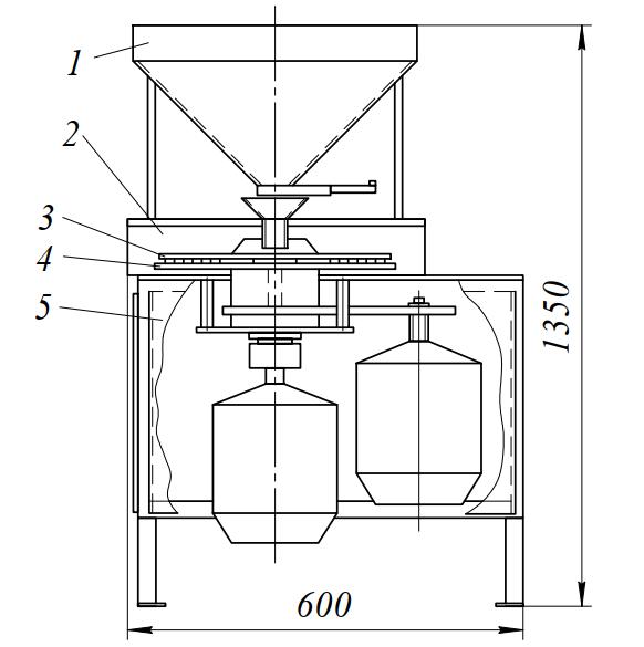Пальцевая мельница МП-205