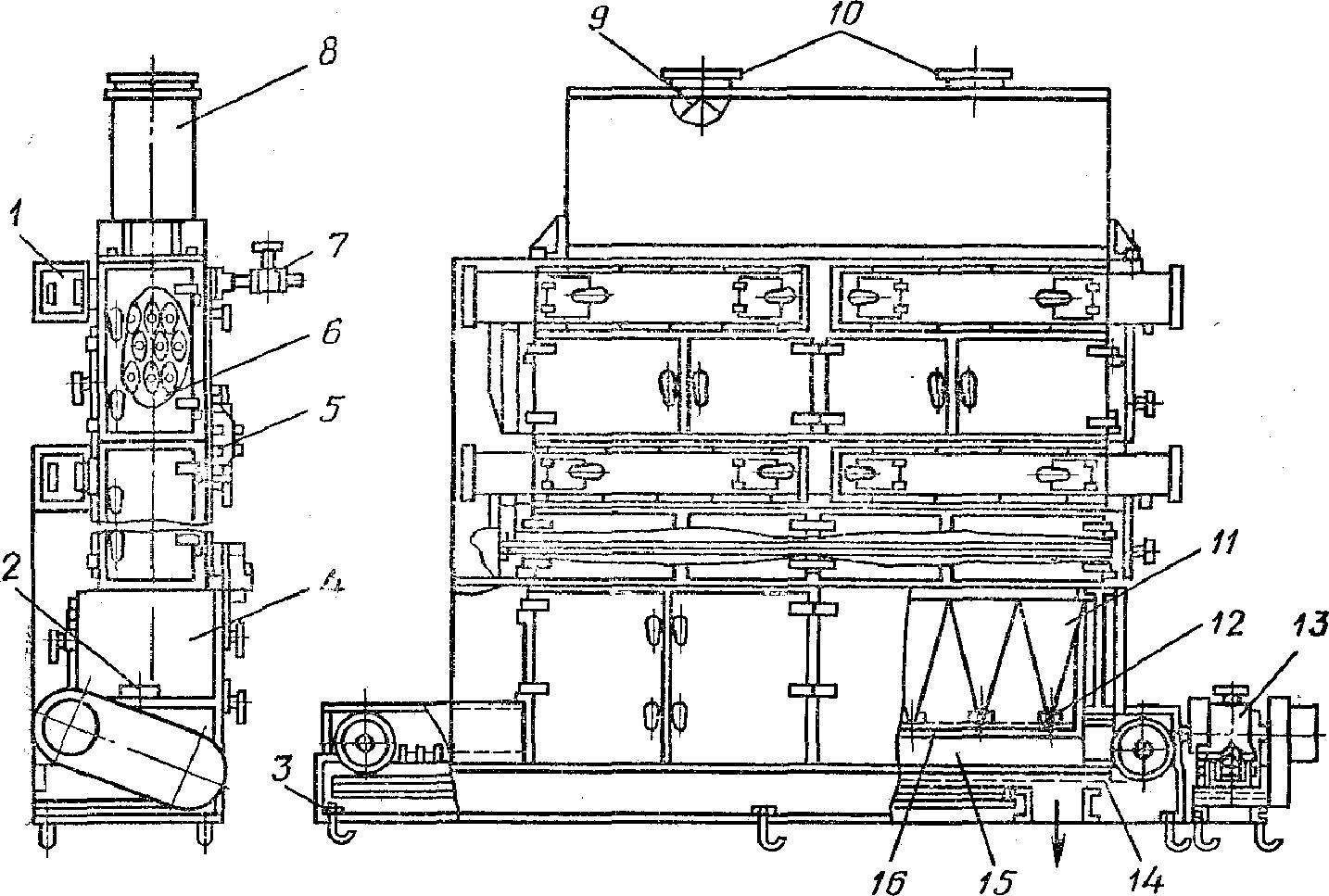 Паровая сушилка А1-БС2-П