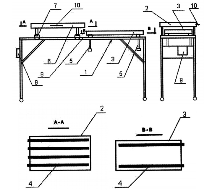 Печь для выпечки изделий из теста