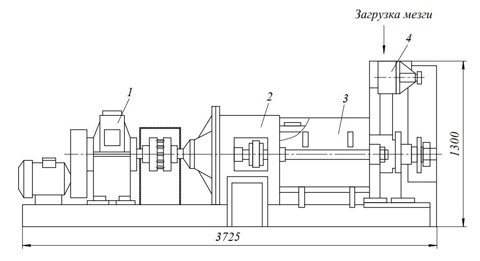 Пресс шнековый зеерный Е8-МПШ