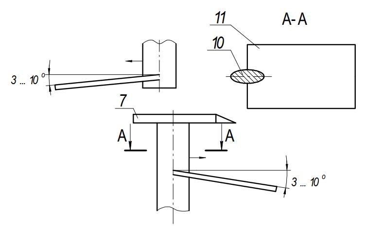 Рыхлительный механизм фильтрационного аппарата